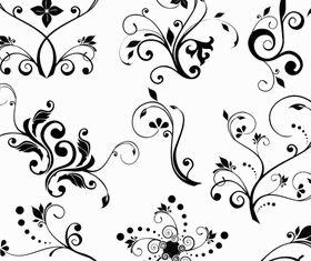 Ornate Floral Elements (Set 26) vector