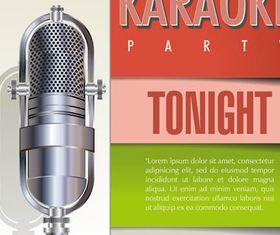 Karaoke Backgrounds vector