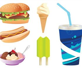 Fast Food Graphics vectors