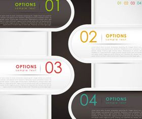 Infographics Backgrounds 18 vector material
