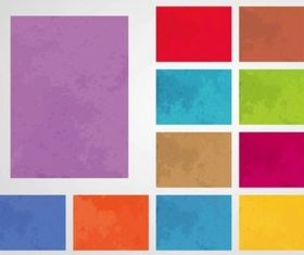 Colorful Grunge Backgrounds vector
