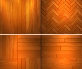 Different Wooden Textures art vector