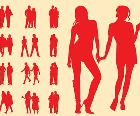 People In Couples Graphics art vectors graphic