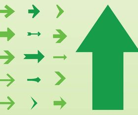 Arrows Graphics Set vector
