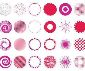 Circular Designs vector
