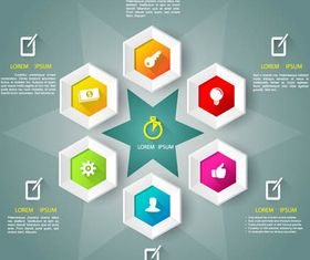 Infographics Backgrounds 17 vector