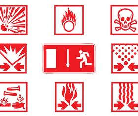 Warning Signs Graphics art vector graphics