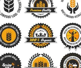 Food Labels free Illustration vector
