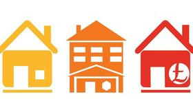 Real Estate Icons Graphics art vector