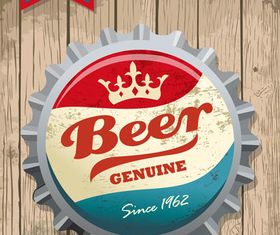 Stylish Beer Backgrounds 2 vector