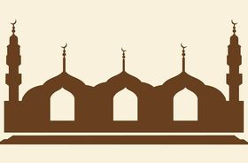 Mosque Graphics vector set