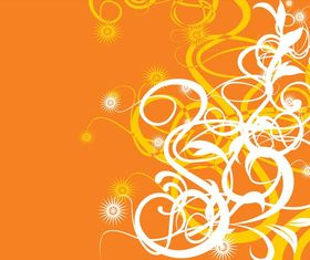 Orange Background Design vector graphic