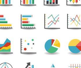 Business Various Diagrams art vector