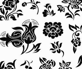 Ornate Floral Elements (Set 25) vector