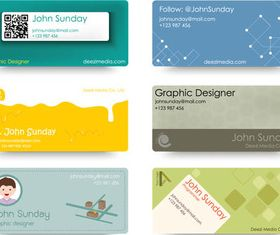 Creative Color Cards design vectors