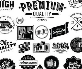 Shopping Labels graphic vectors material