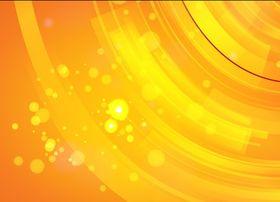 Glowing Orange Background vectors material