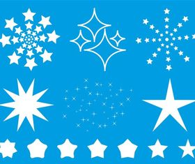 Stars And Sparkles vector