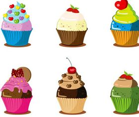 Different Cakes vectors