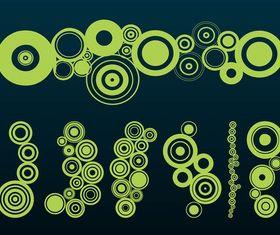 Circles Graphics art vectors