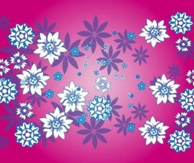Floral Pattern Decorations vector