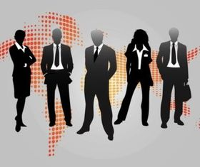 Business People Graphics Illustration vector
