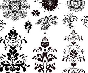 Ornate Floral Elements (Set 23) design vector