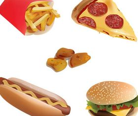 Fast Food free vector