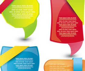 Shiny Web Color Elements art Illustration vector