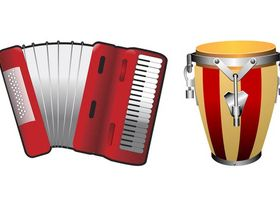 Musical Instruments art creative vector