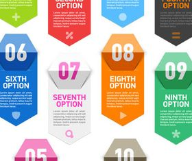 Infographics Shiny Elements art vector graphics