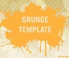 Grunge Template vectors