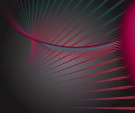 Colorful Overlapping Lines creative vector