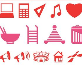 Symbols And Icons vector