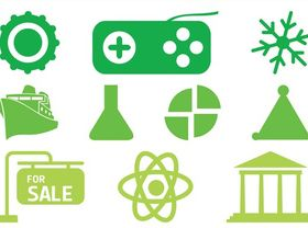 Various Icons vectors