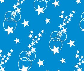 Stars And Circles Pattern Illustration vector