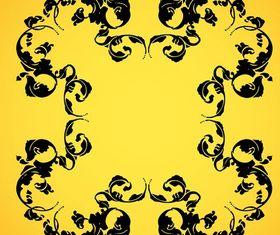 Floral Frame Design vectors