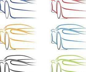 Car Creative Logo design vector