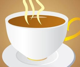 Cup Of Coffee Graphics art vector design