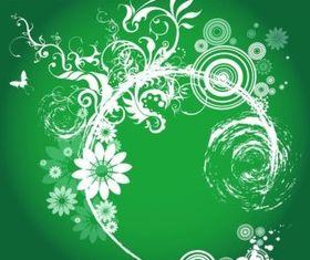 Floral Explosion design vector