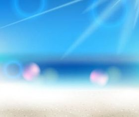 Summer Beach Backgrounds 11 set vector
