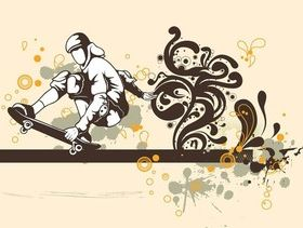 Skater Boy Graphics art vectors graphic