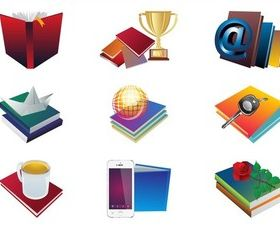 Books Layouts graphic vector graphic