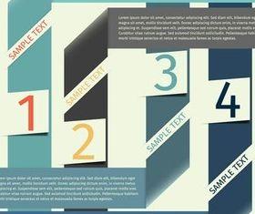 Infographics Backgrounds 14 vector