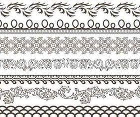 Stylish Ornamental Borders 21 vectors graphics
