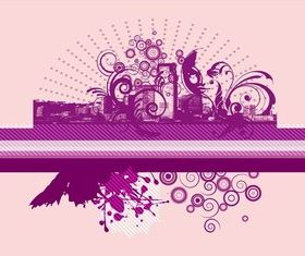 Abstract Urban Graphics vector