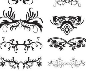 Ornament Borders Elements 5 vector