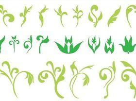 Floral Ornaments Graphics vector