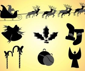 Christmas Clipart vectors material