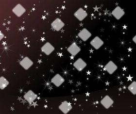 Stars And Squares vector